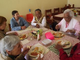 Well balanced, affordable nutritious midday meals are the main reason why most old folk attend the service centres.