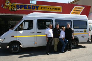 At Sharwood Speedy Newton Park  to have our Brand New Tyres from Bridgestone Sa fitted and Balanced